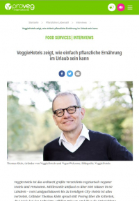 PROVEG FOOD SERVICES Interview mit Thomas Klein