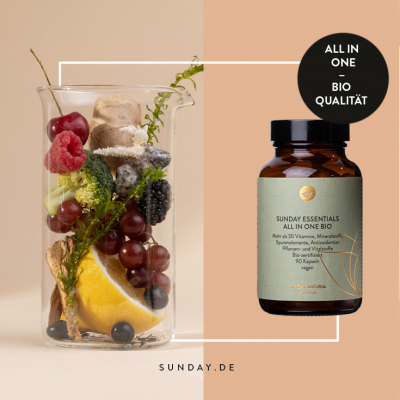 Sunday Natural All-In-One Bio